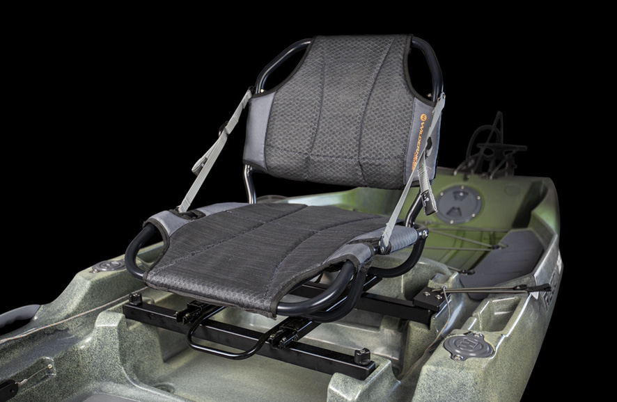 An image of the AirPro ACE kayak seat.