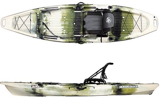 A display of the Jackson Kayak Bite Angler