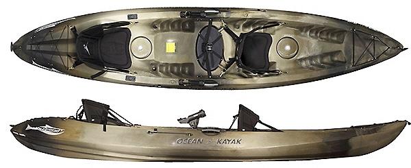 An image of the Ocean Kayak Malibu Two XL Angler.
