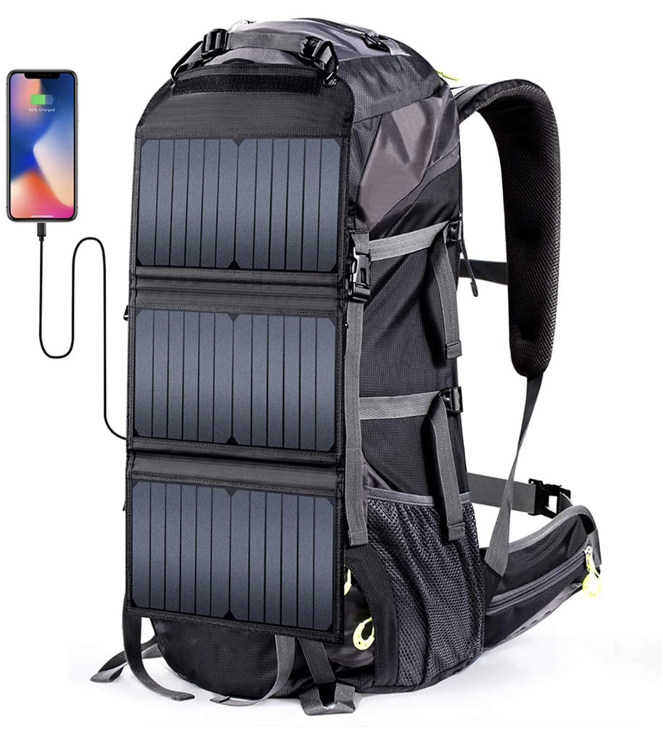 A display of the Eceen External Frame Backpack