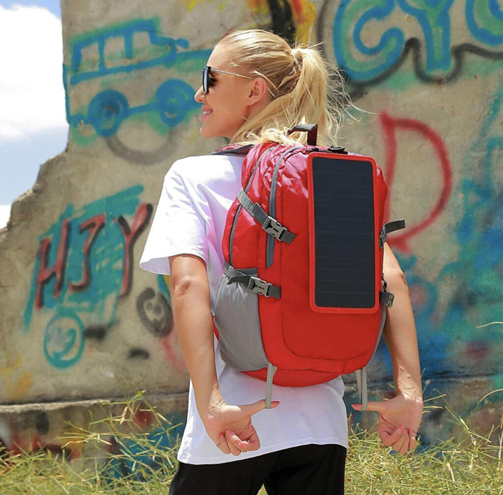Eceen Solar Foldable Backpack Display