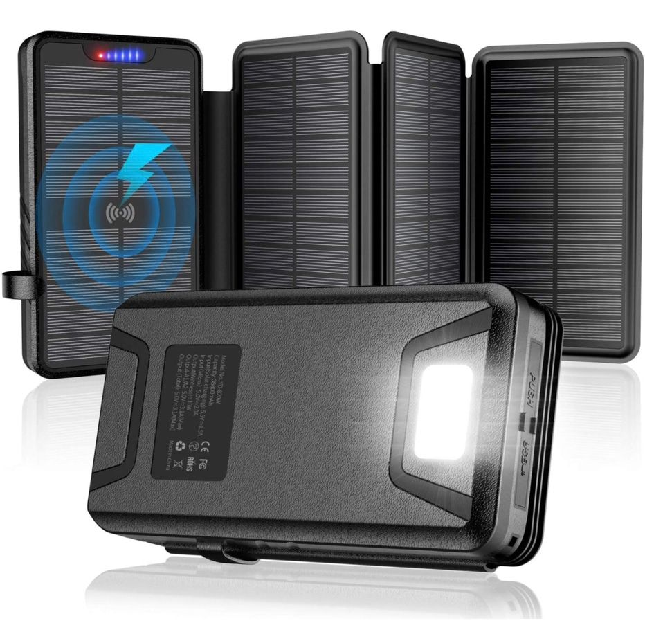 Photo of the Qisa Solar Charger 35800mAh Solar Power Bank