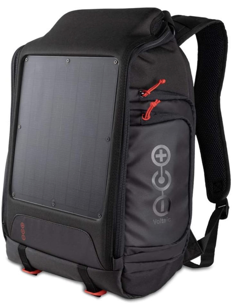 A Display of the Voltaic Systems Array Back Pack