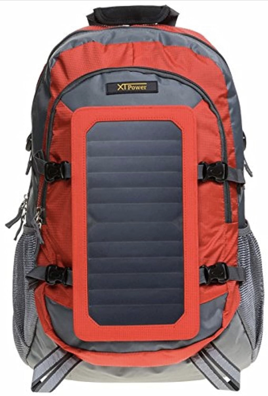 A display of the XTPower Hiking Solar Backpack